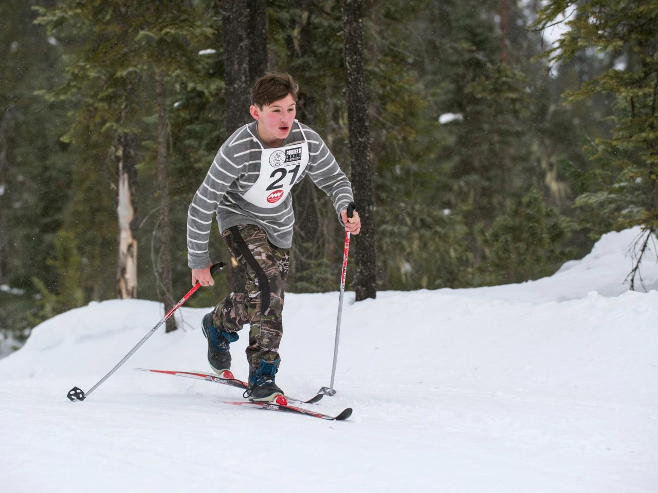 Kids X Country Ski Race