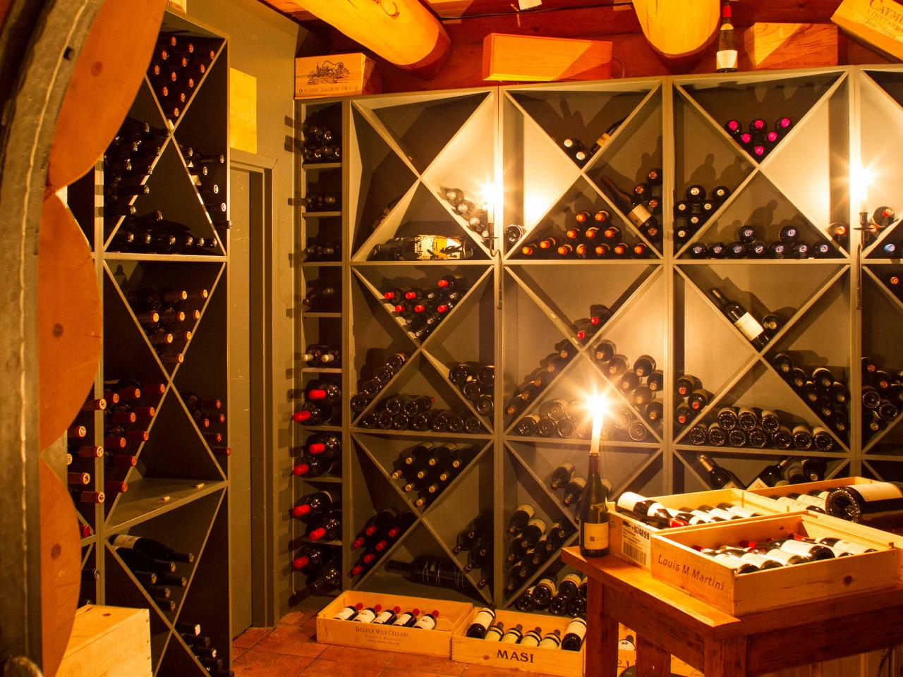 Award winning wine cellar at world's finest helicopter ski resort.