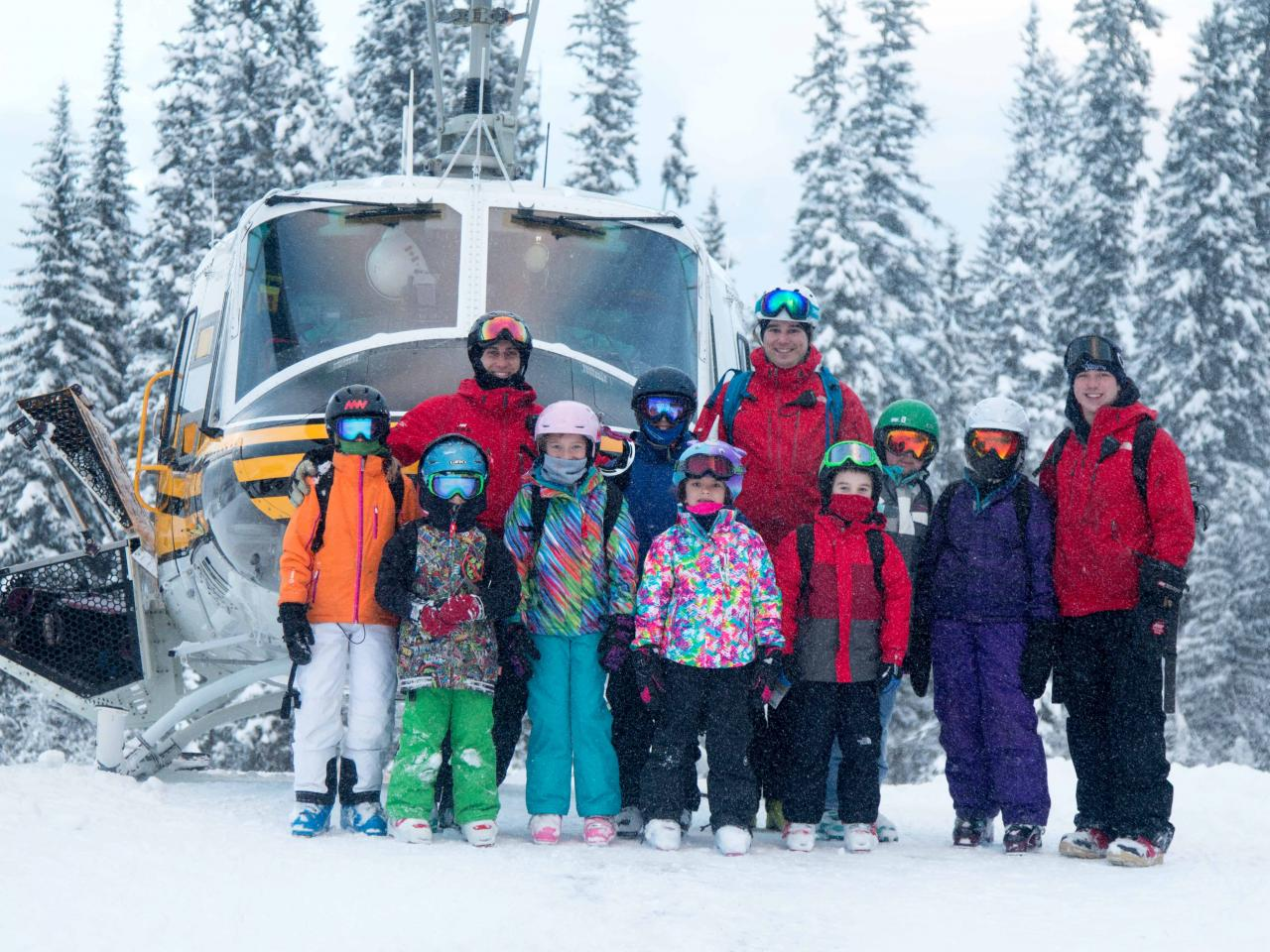Mike Wiegele heli-ski resort offers children ski camps for Christmas & Easter break